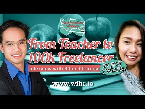 🔴 From Teacher To 100k Freelancer In Just 7 Weeks | Bituin A