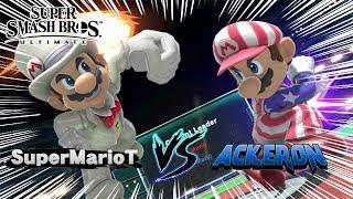 SuperMarioT vs. Ackeron : Ultimate Smashtuber Mario Dittos! - Super Smash Bros. Ultimate