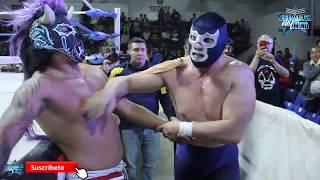 Blue Demon Jr, Cibernético y el Zorro vs Negro Navarro y los Trauma I y II