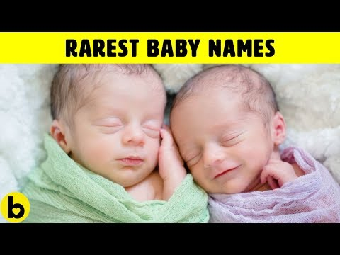 20 Baby Names For Girls & Boys That Are Very Unique