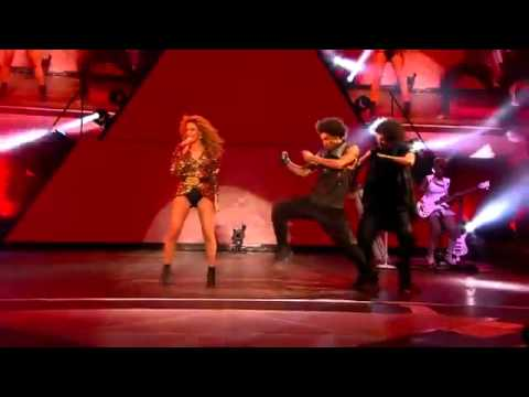 Beyonce - Run The World Girls With Les Twins At Glastonbury 2011 Performance (June 2011)