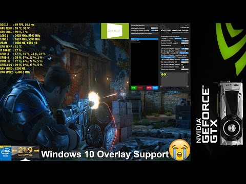 RTSS Finally has Windows 10 UWP Game Support! Gears Of War 4