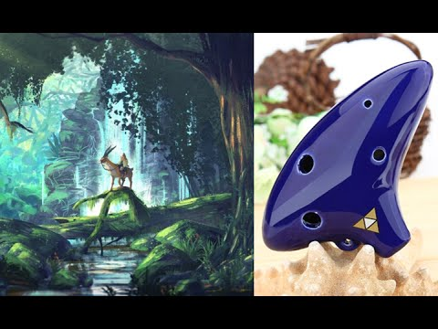 6 Hole Ocarina Tutorial  Princess Mononoke Theme