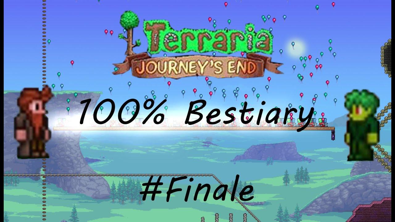 Die Vervollständigung des Bestiariums / Terarria Journey's End Finale