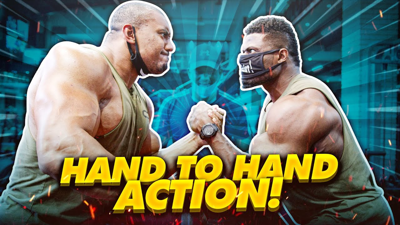 HAND TO HAND ACTION!