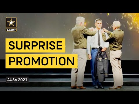 Soldier of the Year Receives Surprise Promotion