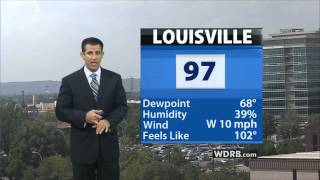 wdrb news at 4 marc weinberg weather 7 16 2012