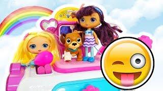 Little Doll Visita Il Cagnolino , Clinica Della Dottoressa Peluche - Episodio Con Barbie in italiano