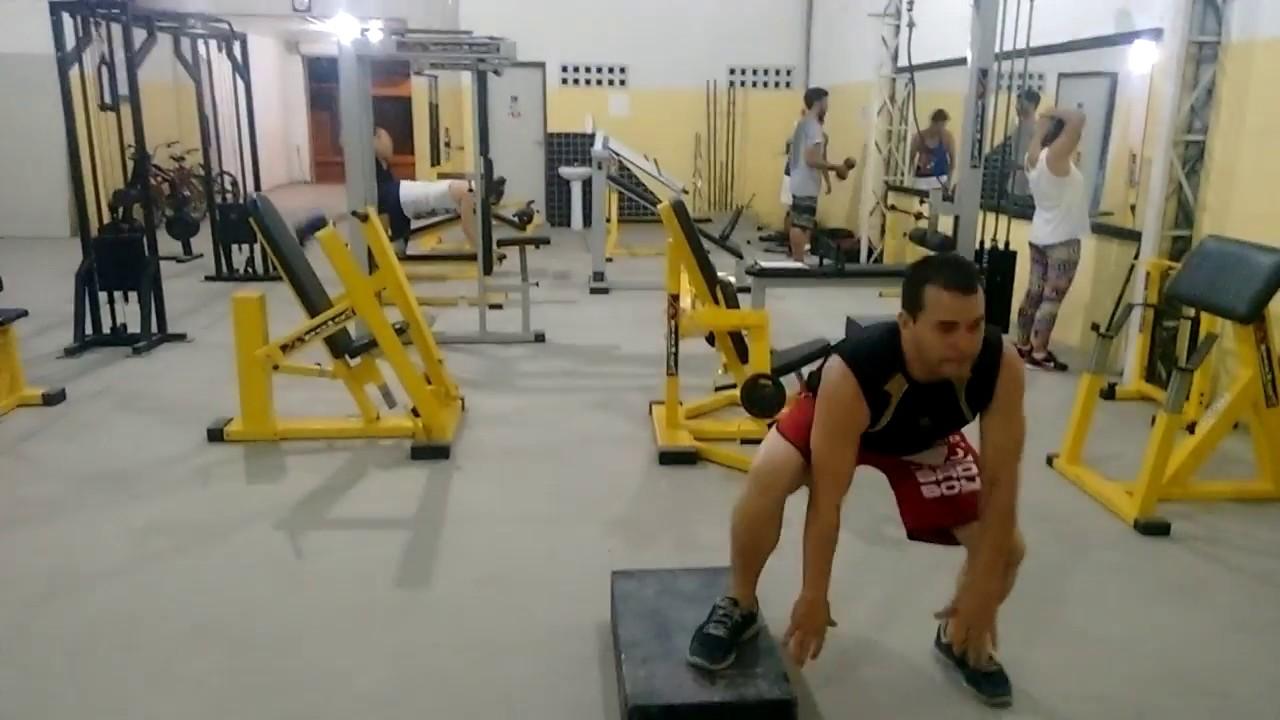 Circuito Na Academia : Circuito funcional império fitness academia youtube