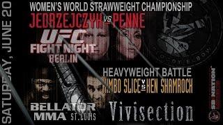Bellator Ken Shamrock vs Kimbo Slice & UFC Berlin MMA Vivisection previews, predictions & odds