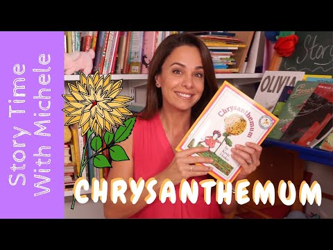 """Story Time With Michele! 💮""""Chrysanthemum""""💮read Aloud For Kids"""