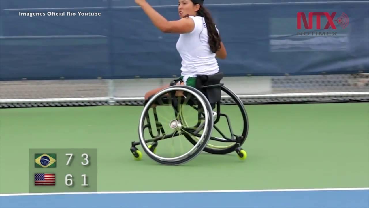 Paralímpicos 2016 RuedasJuegos Silla Tenis En De Río xrCBode