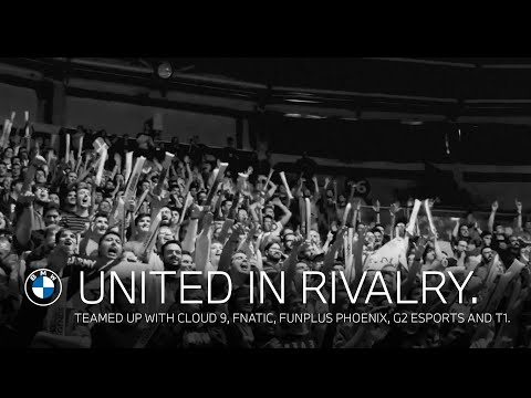 We are all #UnitedInRivalry. Teamed up with Cloud 9, Fnatic, Funplus Phoenix, G2 Esports and T1.