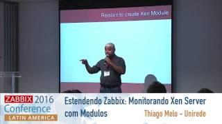 Estendendo Zabbix Monitorando Xen Server com Modulos