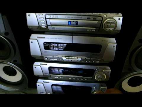 Equipo de sonido Technics L-DV290 360W DVD CD y MP3 solo