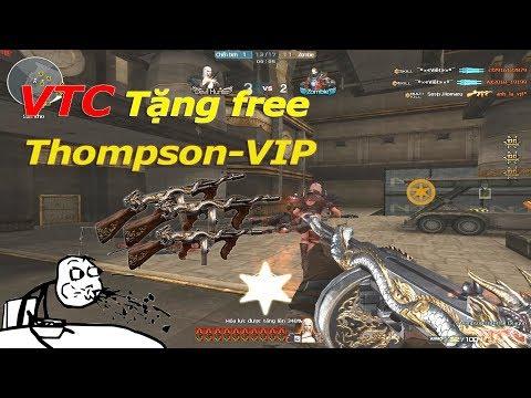 VTC Tặng Free Thompson-VIP, Thật Không Thể Tin Được.