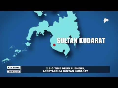 2 big time drug pushers, arestado sa Sultan Kudarat