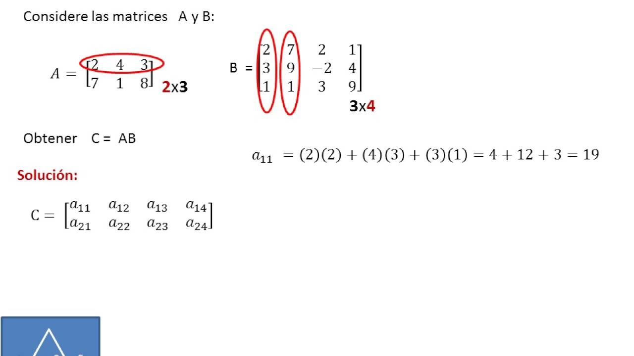 how to find the determinant of a matrix 2x3