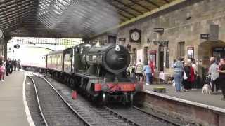 North Yorkshire Moors Railway - Autumn Steam Gala 2014 - 27/09/2014