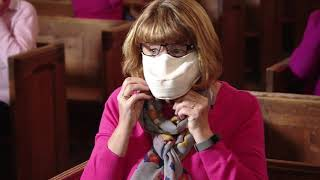 Andover Ladies Choir Mask Story - ITV News