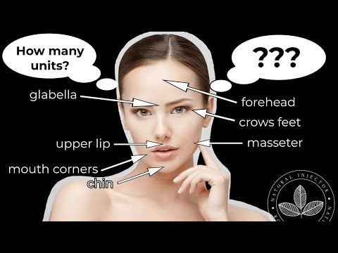 How Many Units Of Botox Will I need? - A General Guideline of How Many Units Are Used In Each Area
