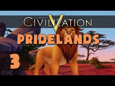 Civilization 5 Deity - Let's Play Pridelands - Part 3