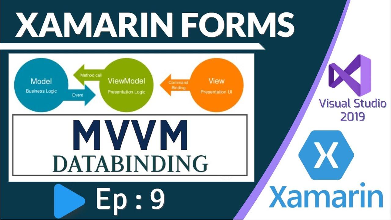 MVVM & Data Binding in Xamarin Forms - Ep:9