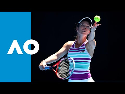 Danielle Collins v Angelique Kerber match highlights (4R) | Austalian Open 2019