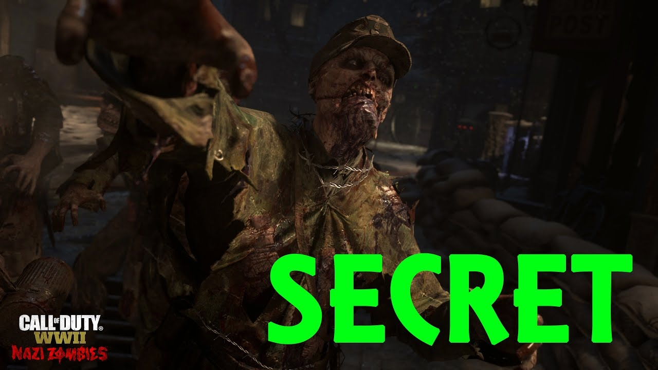 ZOMBIE WW2 SECRET MAP GROESTEN HAUS