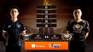 IGP vs MZ   Ngày 1   Vòng tuyển chọn đội tuyển tham dự  SEA Games 30