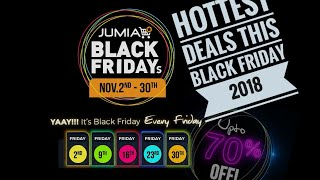 Best Deals On Jumia This Black Friday Nigeria 2018 +link to Samsung galaxy note 9 discounted price.