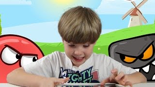 One of EthanGamer's most viewed videos: Red Ball 4 | Mobile Games | KID Gaming