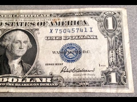1935 Dollar Bill - No