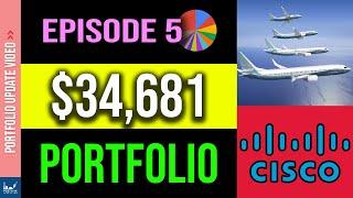My $35000 Dividend Growth Stock Portfolio (Episode 5 - January 2020)