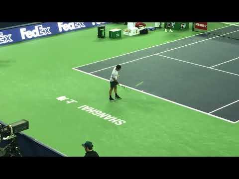 Roger Federer introduction at Shanghai 2017