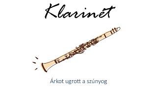 Hangszer ovi - Árkot ugrott a szúnyog (klarinét) / Hungarian folk children song with animals