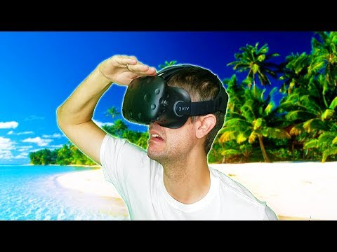 SURVIVING ON A DESERTED ISLAND IN VR! STRANDED DEEP IN VR?! - Lost in the Ocean VR HTC VIVE Gameplay