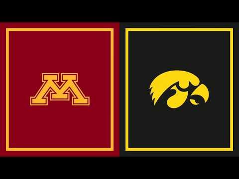 First Half Highlights: Iowa at Minnesota | B1G Basketball