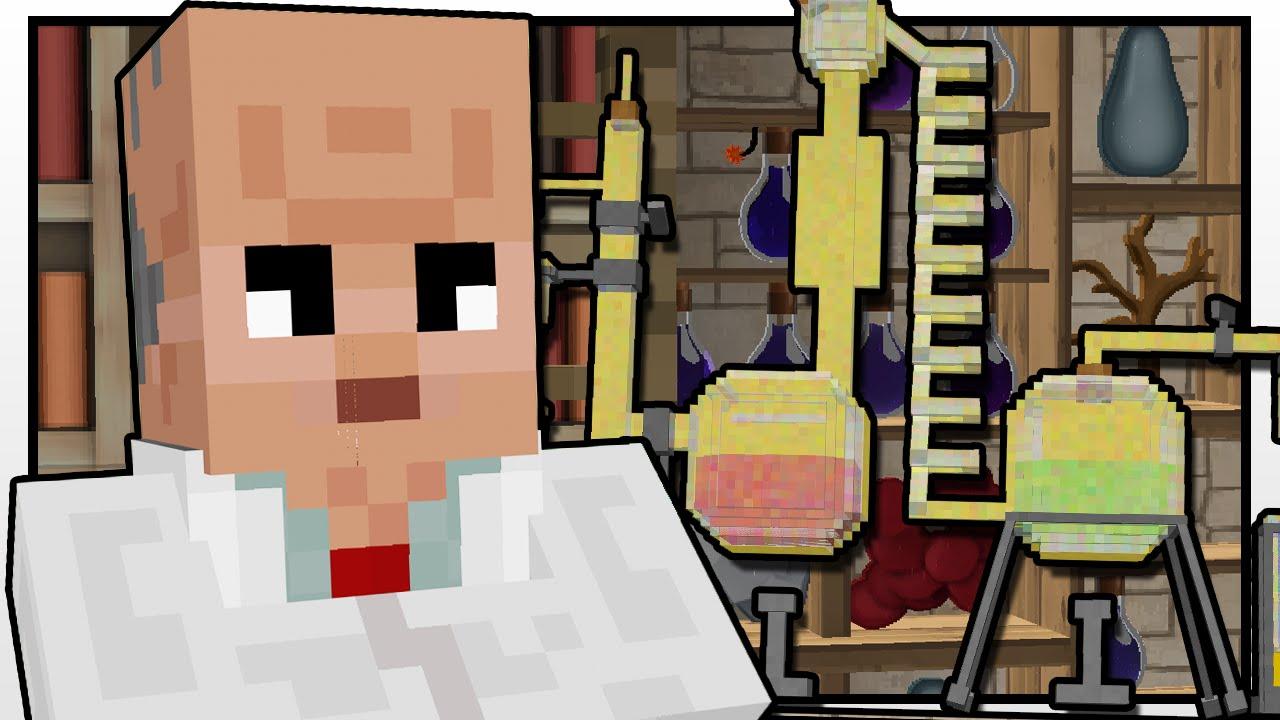 Minecraft High School | SCIENCE CLASS DISASTER!! | Custom Mod Adventure
