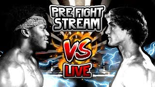 🔴 FIGHT NIGHT - KSI VS LOGAN! WHO WINS? VOTE NOW - ROBUX GIVEAWAY ! DISCORD [G RATED]