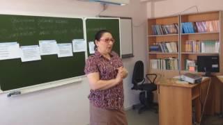 ИВАСЮК К.Р. Урок русского языка. 10 класс