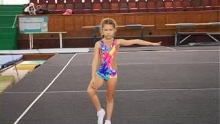 Первенство ДЮСШ по спортивной акробатике 2 юн разряд 1е упражнение (девочки)