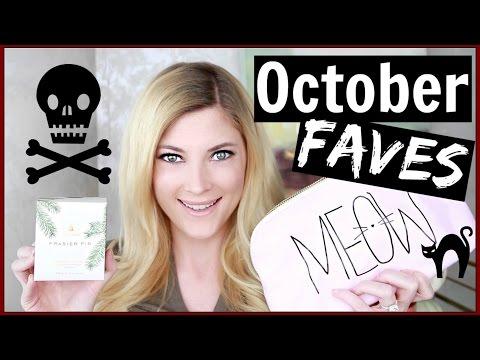 October Favorites + Healthy Snack Unboxing!