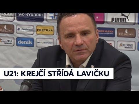 Trenér Krejčí u reprezentace U21 vystřídá Lavičku