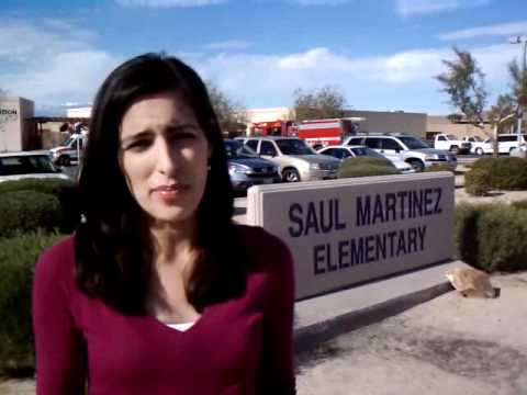 Strange smell again reported at Saul Martinez Elementary school