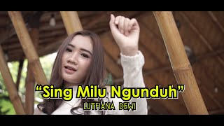 Download Lagu Banyuwangi Terbaru - Sing Milu Ngunduh - Lutfiana Dewi ( Official Music Video ANEKA SAFARI )