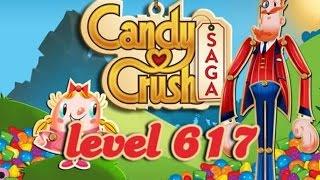 Candy Crush Saga Level 617 - ★