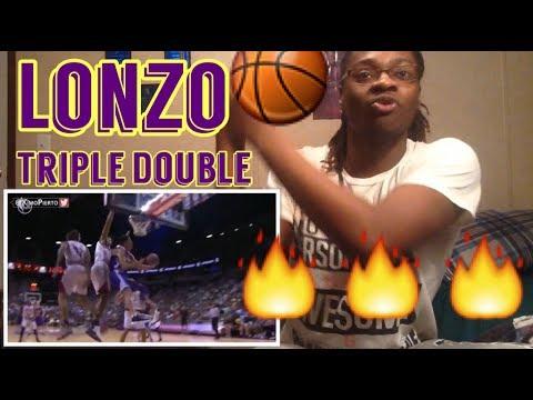 Lonzo Ball Triple Double Full Highlights Lakers vs Cavs ...