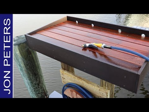 How To Make A Fish Cleaning Table - Work Station