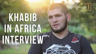 Khabib Nurmagomedov explains why he decided to help people in Nigeria